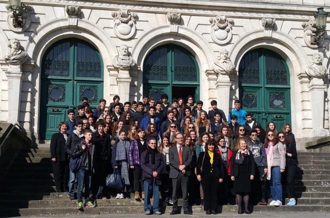 Echange scolaire à Vannes